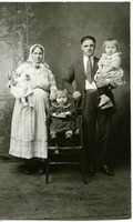 Young Doukhobor family