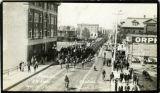 """""""Parade 53 Batt May 19 1915 Central Ave Prince Albert Sask"""""""